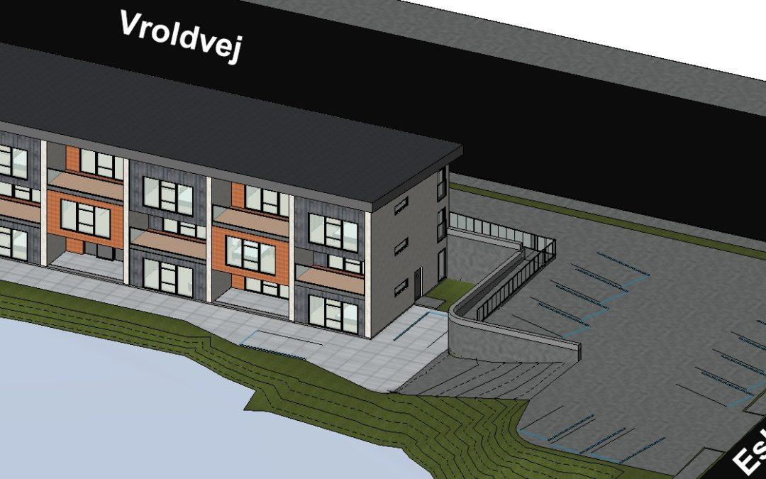 8 nye lejligheder på Eskebæk Søvej