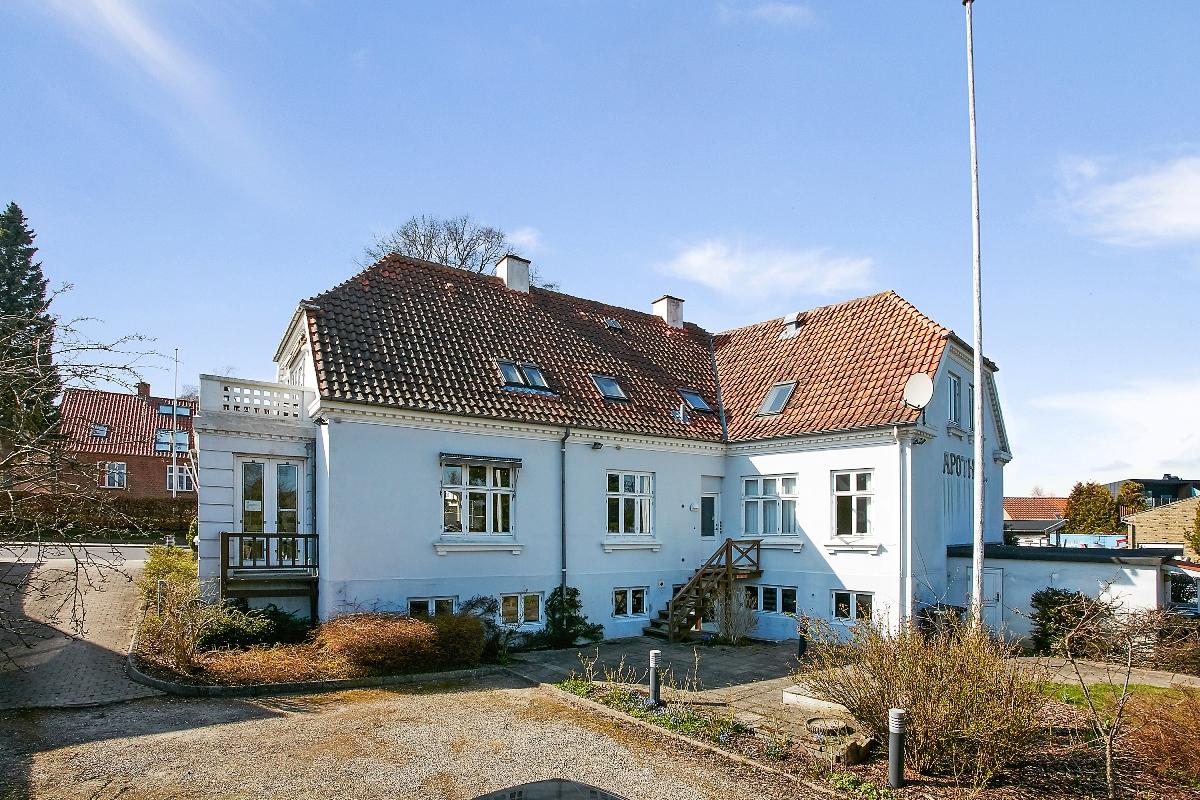 Horsensvej 5, Hovedgård - Facade have
