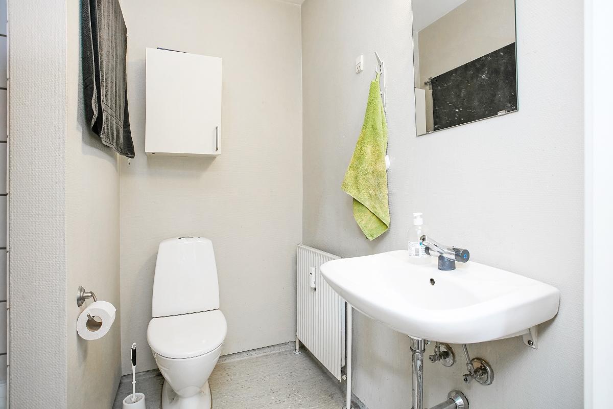 Horsensvej 5, Hovedgård - Toilet