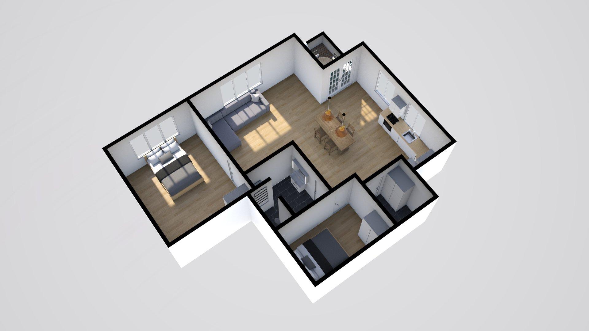 3D 1 Horsensvej 5, Hovedgård