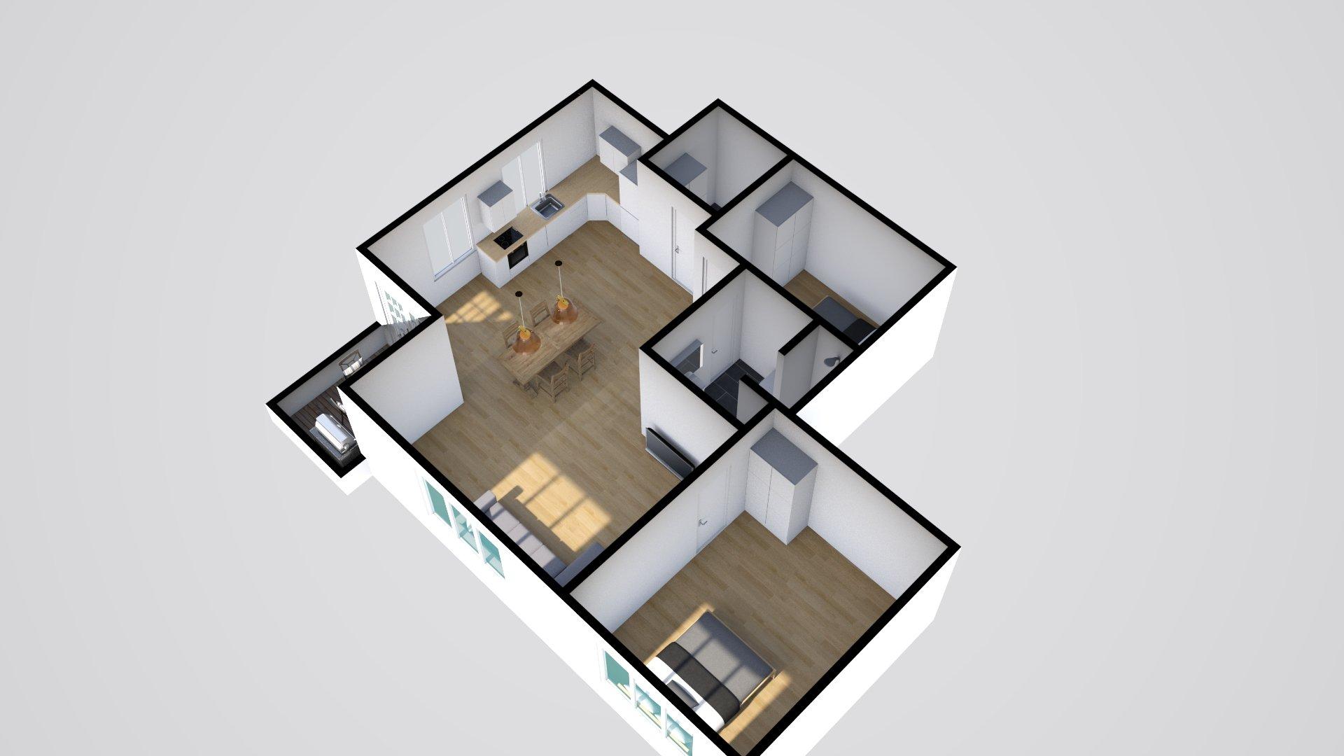 3D 2 Horsensvej 5, Hovedgård