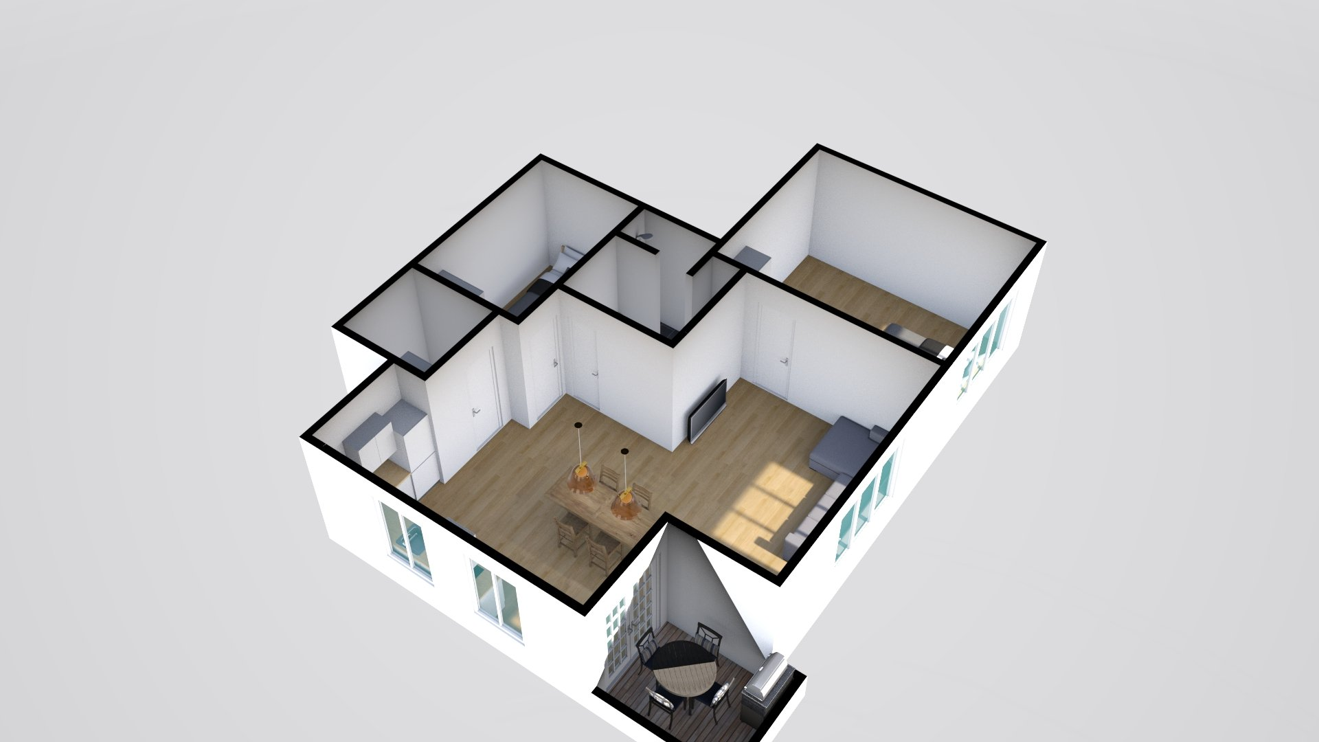 3D 3 Horsensvej 5, Hovedgård