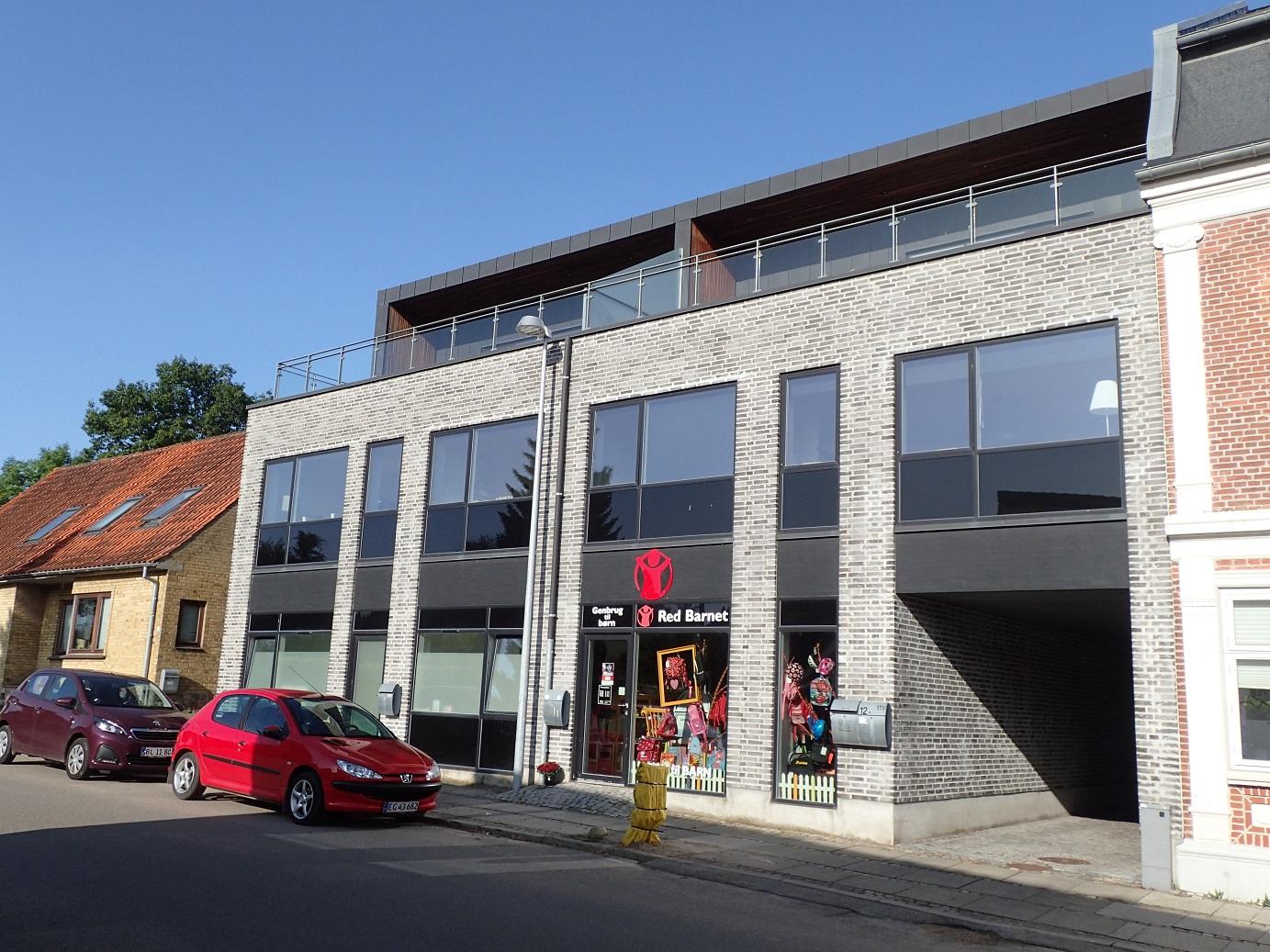 Horsensvej 12b, facade