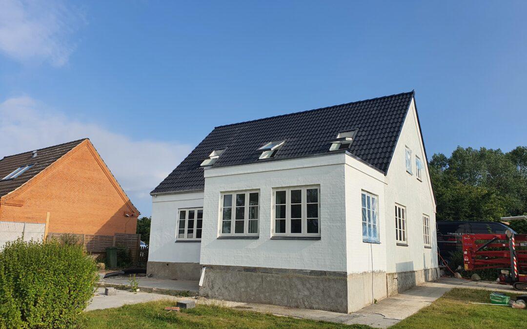 Ny renoveret hus i Tebstrup